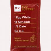 RX Nut Butter Maple Almond Butter Squeeze Pack