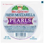 Belgioioso Fresh Mozzarella Pearls Cryovac