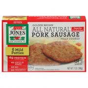 Jones All Natural Golden Brown Mild Patties