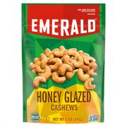 Emerald Honey Glazed Cashews