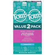 Tom's Antiplaque & Whitening Peppermint Toothpaste