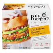 Dr. Praeger's Black Bean Veggie Burgers