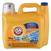 Arm & Hammer Oxi Clean Fresh Scent Liquid Laundry Detergent