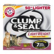 Arm & Hammer Clump & Seal Light Weight MultiCat Litter