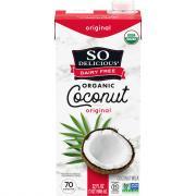 So Delicious Dairy Free Coconut Milk Original