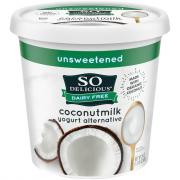 So Delicious Coconut Milk Unsweetened Plain Yogurt
