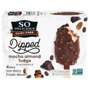 So Delicious Almondmilk Mocha Almond Fudge Bars