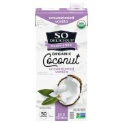 So Delicious Unsweetened Vanilla Coconut Milk