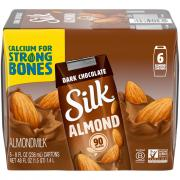 Silk Pure Almond Dark Chocolate Almondmilk