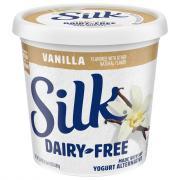 Silk Dairy-Free Soy Vanilla Yogurt Alternative