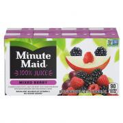 Minute Maid Mixed Berry 100% Juice With Calcium & Vitamin C