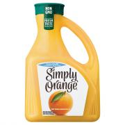 Simply Orange Pulp Free with Calcium Orange Juice