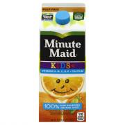 Minute Maid From Concentrate Premium Kids 100% Orange Juice