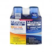 Mucinex Fast Max All In One Adult Day Night Cold & Flu