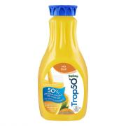Tropicana 50 No Pulp Orange Juice