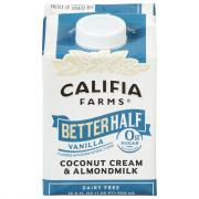 Califia Farms Better Half Vanilla Coconut Cream & Almond
