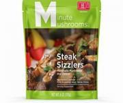 Minute Mushrooms Steak Sizzlers