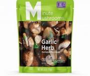 Minute Mushrooms Garlic Herb Marinated Mushrooms