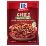 McCormick Gluten-Free Chili Seasoning Mix