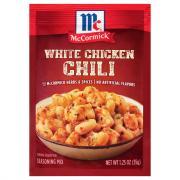 McCormick White Chicken Chili Seasoning Mix