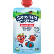Stonyfield Organic Whole Milk Strawberry Beet Berry Yogurt