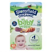 Stonyfield Organic Kids Whole Milk Carrot & Sweet Potato