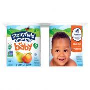 Stonyfield Organic YoBaby Peach & Pear Yogurt