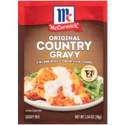 McCormick Original Country Gravy Mix