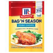 McCormick Pork Chops Bag 'n Season