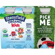 Stonyfield Organic Kids Very Berry Lowfat Smoothie