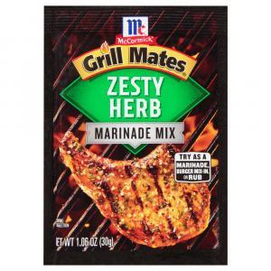 Mccormick Grill Mates Zesty Herb Marinade Mix