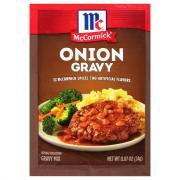 McCormick Onion Gravy Mix