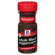 McCormick Black Pepper Whole