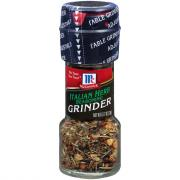 McCormick Italian Herb Seasoning w/Grinder