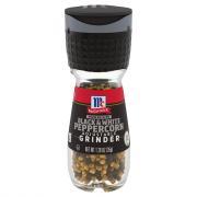 McCormick Black & White Peppercorn Grinder