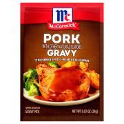 McCormick Pork Gravy Mix