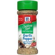 McCormick California Style Garlic Pepper