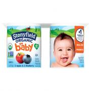 Stonyfield YoBaby Organic Blueberry and Apple