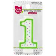 Cake Mate Numeral 1 Candle