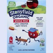 Stonyfield Organic Kids Whole Milk Apple Cinnamon Sweet