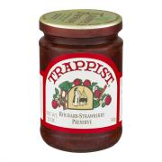 Trappist Rhubarb Strawberry Preserves