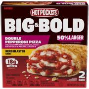 Hot Pockets Big & Bold Double Pepperoni Pizza