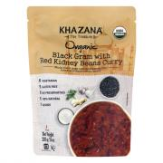 Khazana Organic Black Gram with Red Kidney Beans Curry