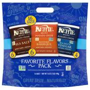 Kettle Potato Chips Favorite Flavors Pack