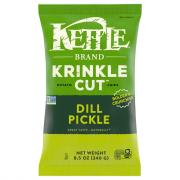Kettle Brand Krinkle Cut Dill Pickle Chips