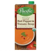 Pacific Foods Organic Roasted Red Pepper and Tomato