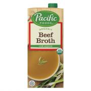 Pacific Natural Foods Organic Low Sodium Beef Broth