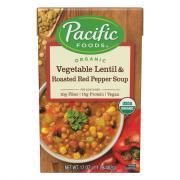 Pacific Natural Foods Vegetable Lentil & Roasted Red Pepper