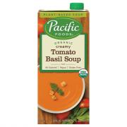 Pacific Natural Foods Organic Creamy Tomato Basil Soup
