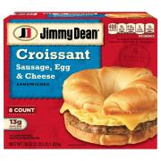 Jimmy Dean Sausage, Egg, & Cheese Croissants